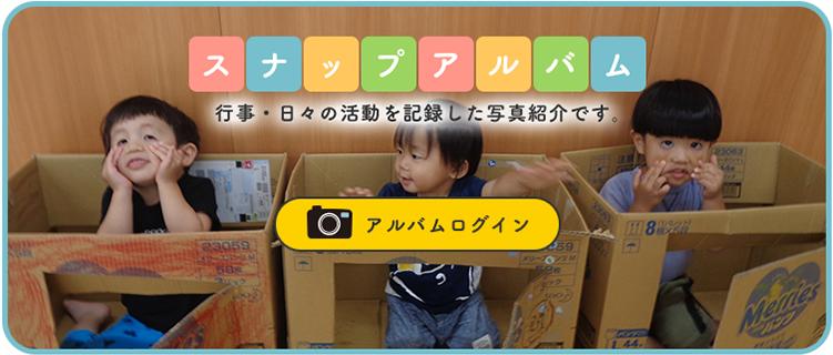 堺市深井の保育園・ひまわり保育園のスナップアルバム アルバムログイン